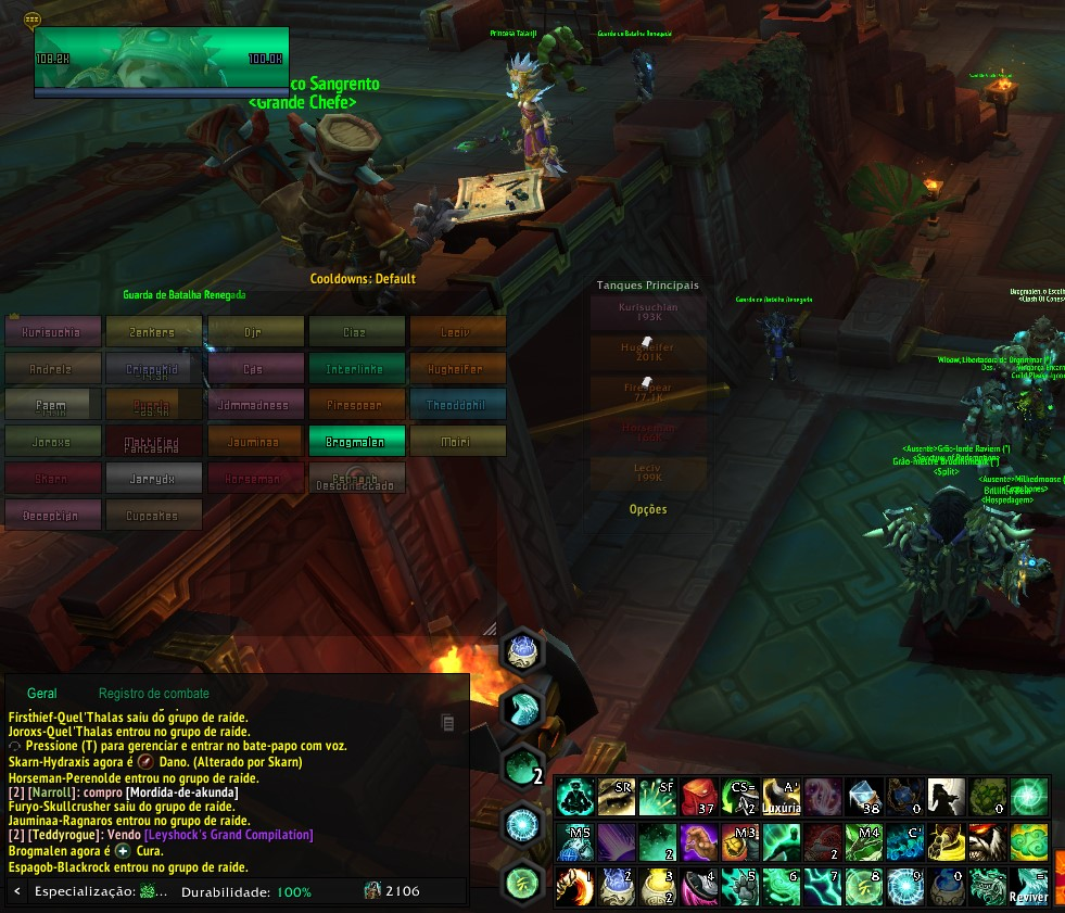 My heal groups in raids are confuse - Healbot Website